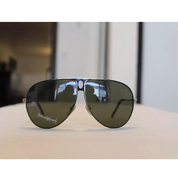Sunglasses Saint Vintage Ysl Laurent Yves PZwiTXuOk